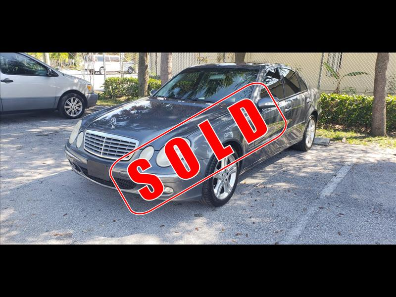 2006 Mercedes-Benz E350 in Lantana, Florida