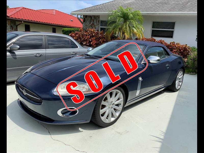 2007 Jaguar XK-Series in Lantana, Florida